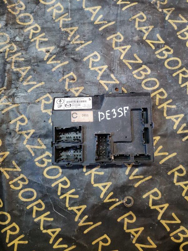 Электронный блок Mazda Demio DE3FS