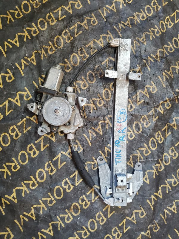 Стеклоподъемник Nissan Tino HV10 задний правый