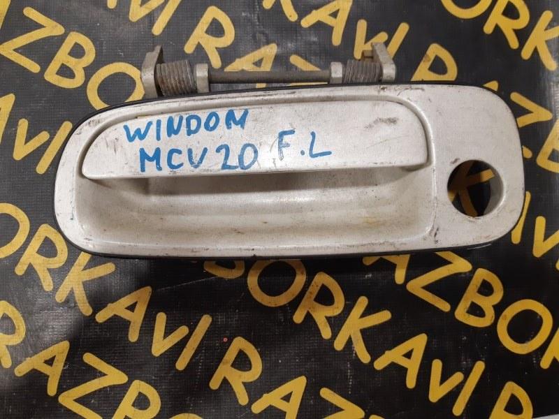 Ручка двери внешняя Toyota Windom MCV20 передняя левая