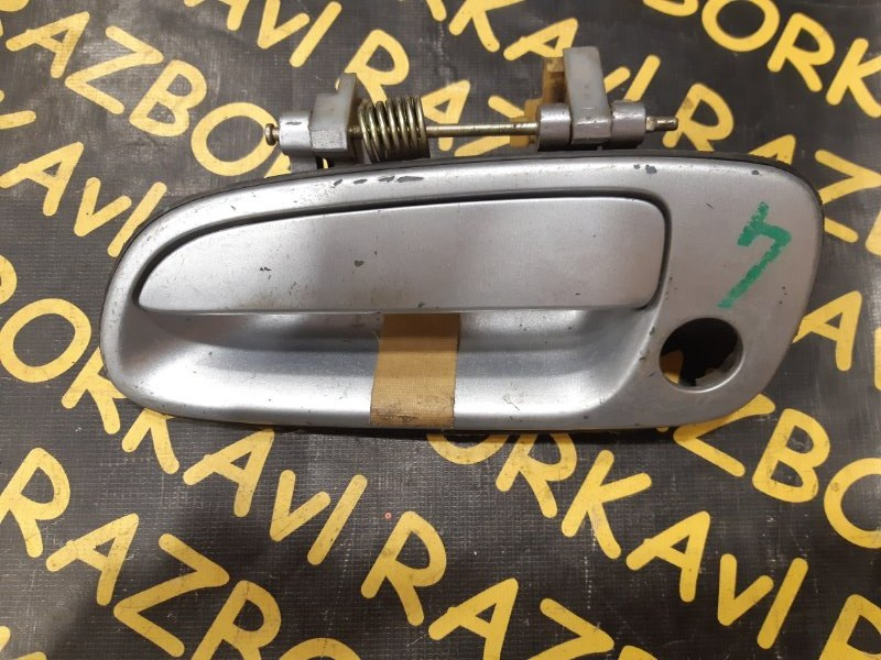 Ручка двери внешняя Toyota Caldina AT190 передняя левая