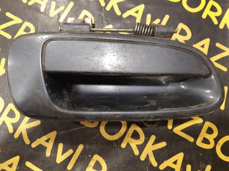 Ручка двери внешняя Toyota Corona AT190 задняя правая