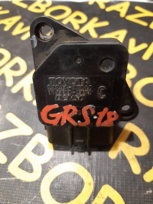 Датчик расхода воздуха Toyota Crown GRS180