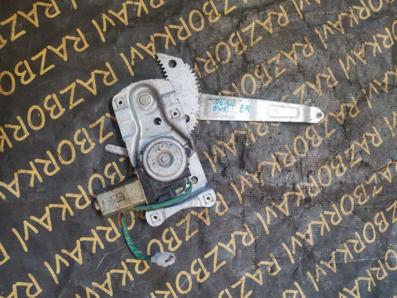 Стеклоподъемник Mazda Demio DW3W задний правый