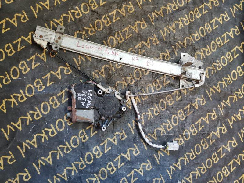 Стеклоподъемник Mitsubishi Legnum EA1W 4G64 задний правый