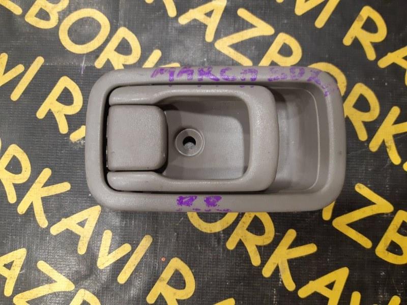 Ручка двери внутренняя Nissan March K11 задняя правая