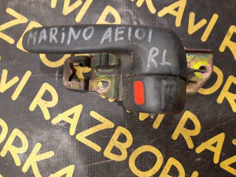 Ручка двери внутренняя Toyota Marino AE101 задняя левая