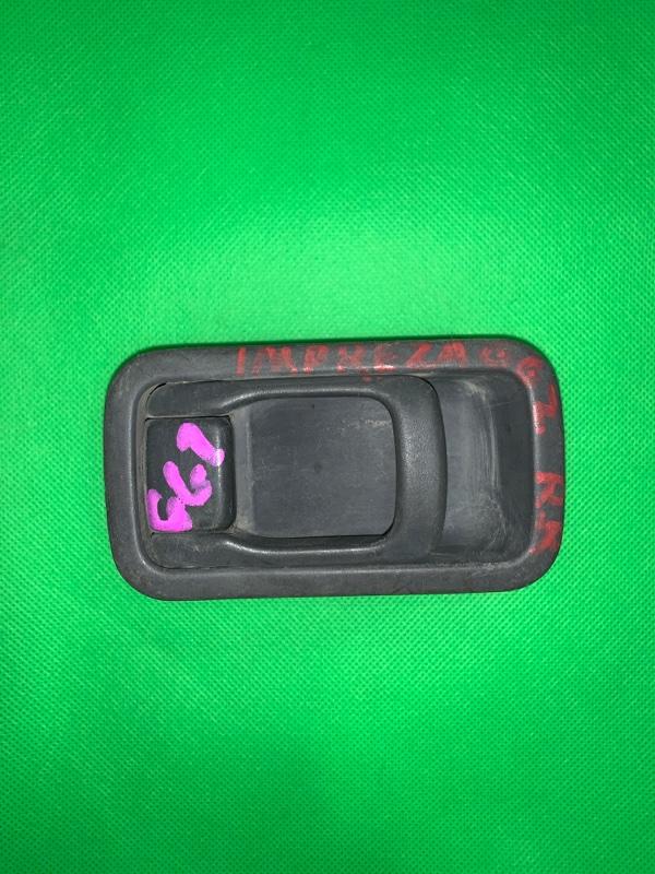 Ручка двери внутренняя Subaru Impreza GG2 задняя правая