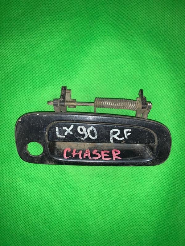 Ручка двери внешняя Toyota Chaser GX90 передняя правая