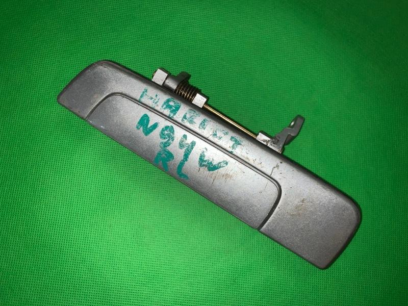 Ручка двери внешняя Mitsubishi Chariot Grandis N84W задняя левая