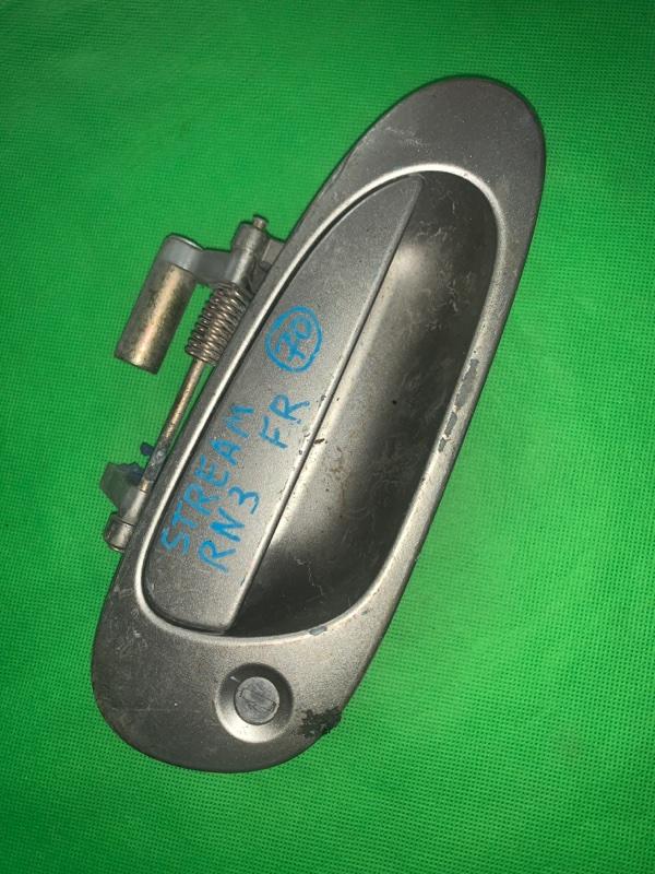 Ручка двери внешняя Honda Stream RN1 передняя правая