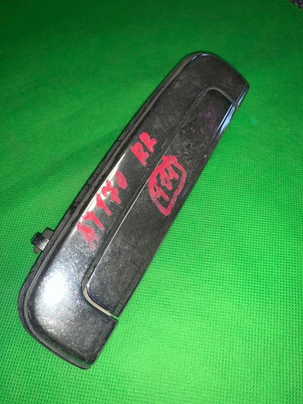 Ручка двери внешняя Toyota Carina AT170 задняя правая
