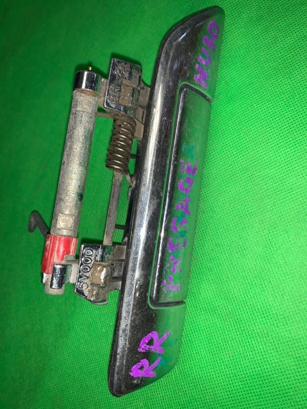 Ручка двери внешняя Nissan Presage NU30 задняя правая