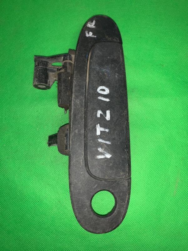 Ручка двери внешняя Toyota Vitz NCP10 передняя правая