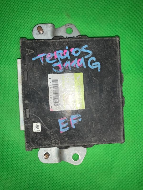 Блок управления efi Daihatsu Terios Kid J111G EFDET