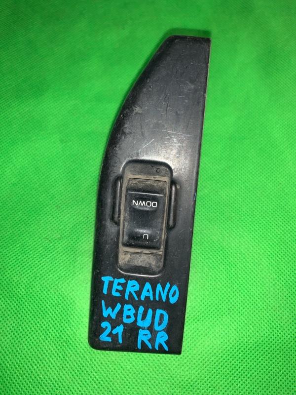 Пульт стеклоподъемника Nissan Terrano WBYD21 задний правый