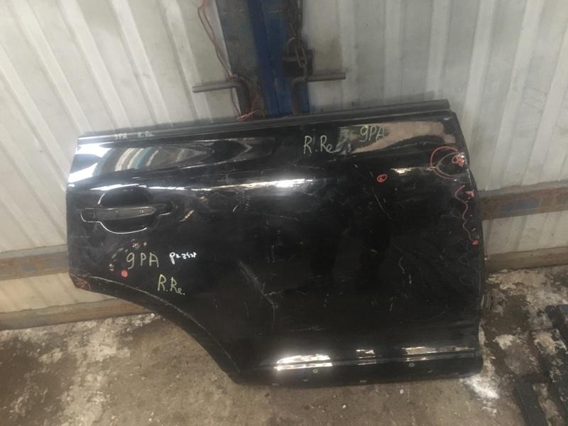 Дверь Porsche Cayenne 9PA задняя правая