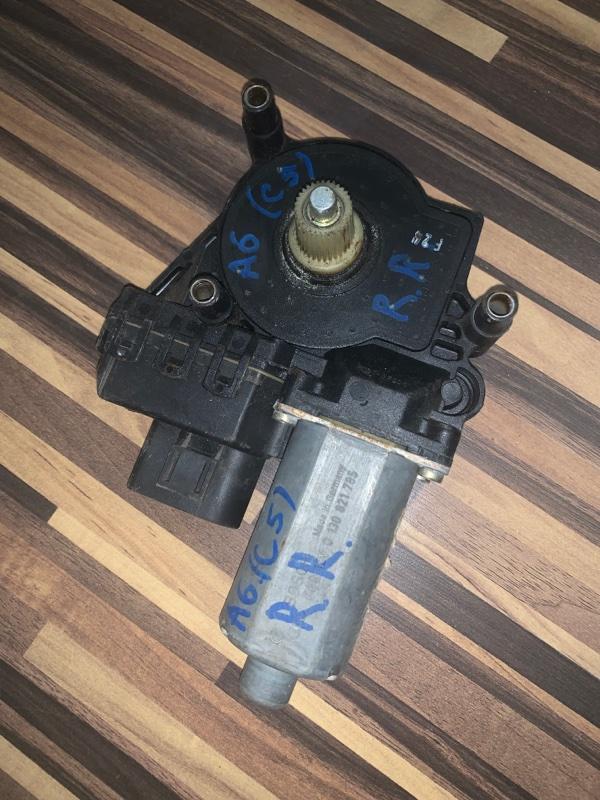 Мотор стеклоподъемника Audi A6 C5 задний правый