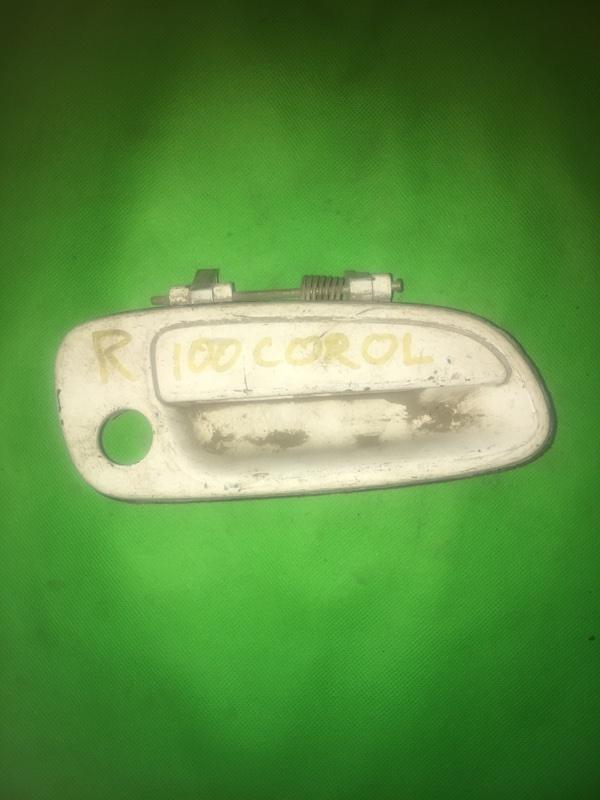 Ручка двери внешняя Toyota Corolla AE100 передняя правая