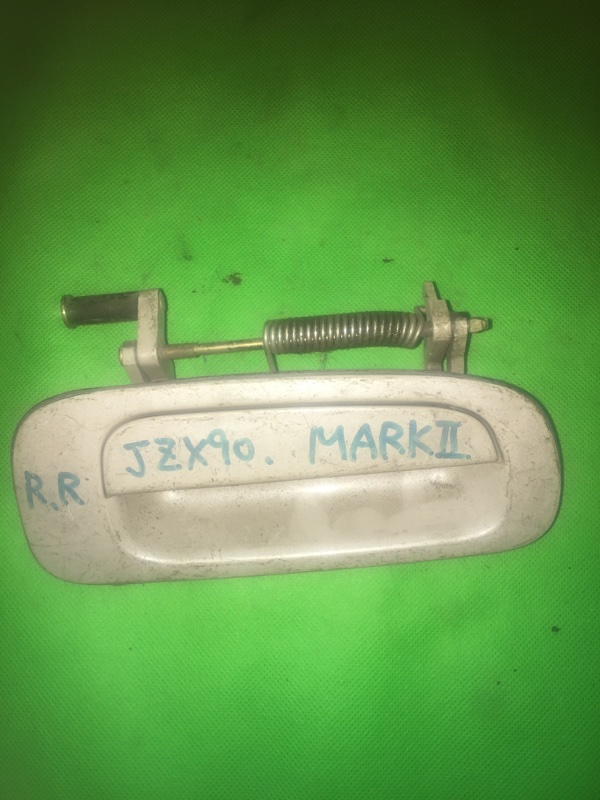 Ручка двери внешняя Toyota Mark Ii GX90 задняя правая