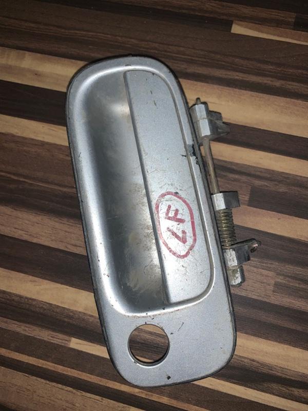 Ручка двери внешняя Toyota Vista SV40 передняя левая