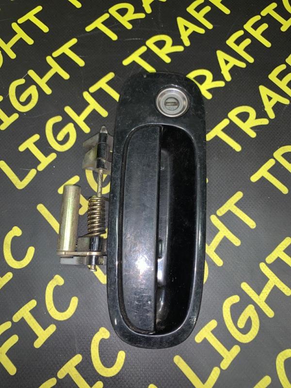 Ручка двери внешняя Toyota Bb NCP30 передняя левая