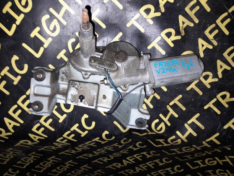 Мотор дворников Mitsubishi Pajero V21W задний