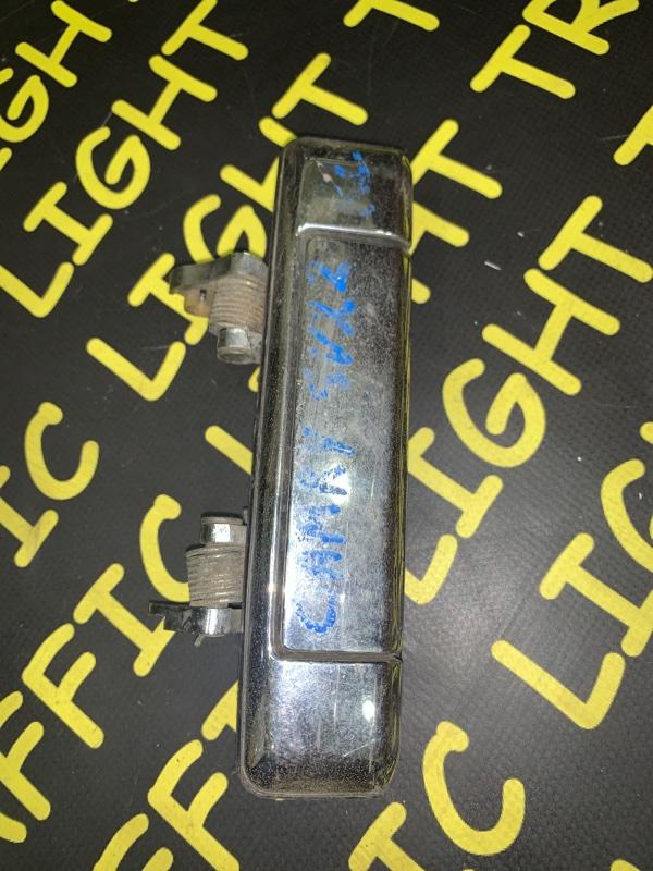 Ручка двери внешняя Toyota Camry SV20 задняя правая