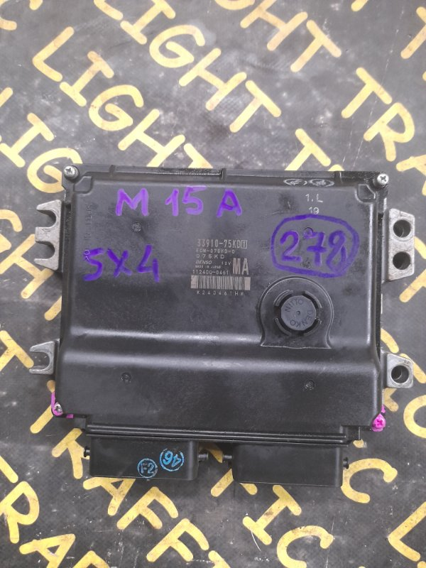 Блок управления efi Suzuki Sx4 YA11S M15A