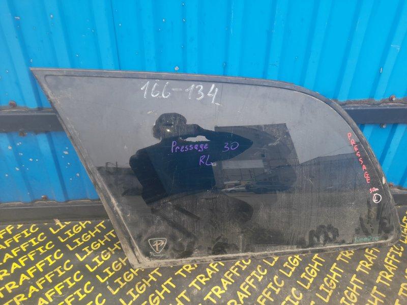 Стекло собачника Nissan Presage NU30 заднее левое