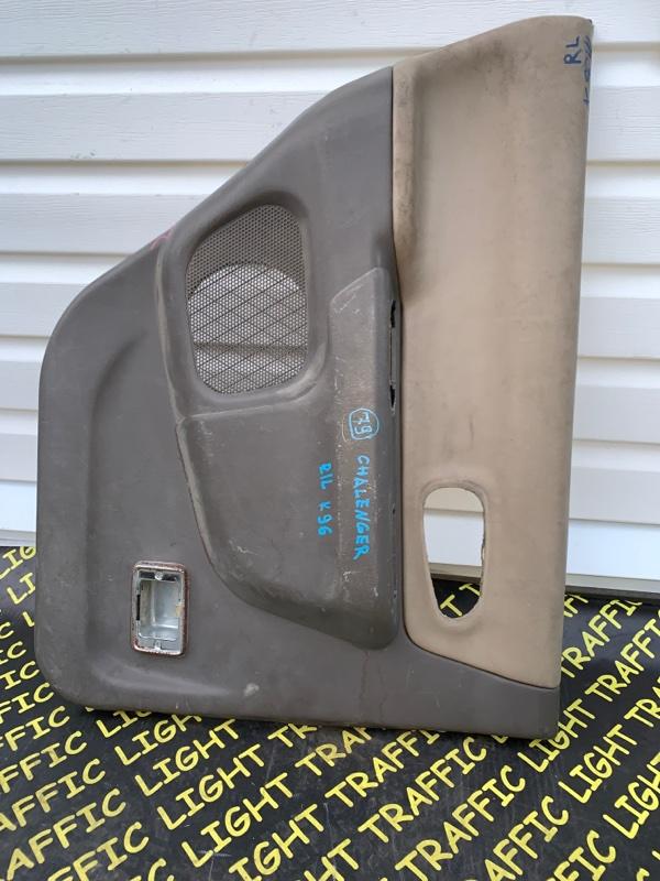 Обшивка дверей Mitsubishi Challenger K96W 6G72 задняя левая