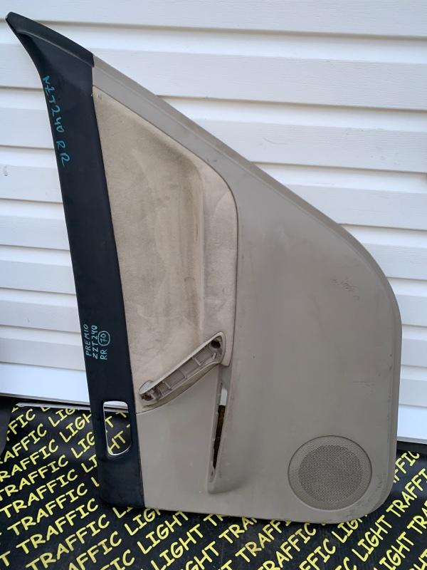 Обшивка дверей Toyota Premio NZT240 задняя правая