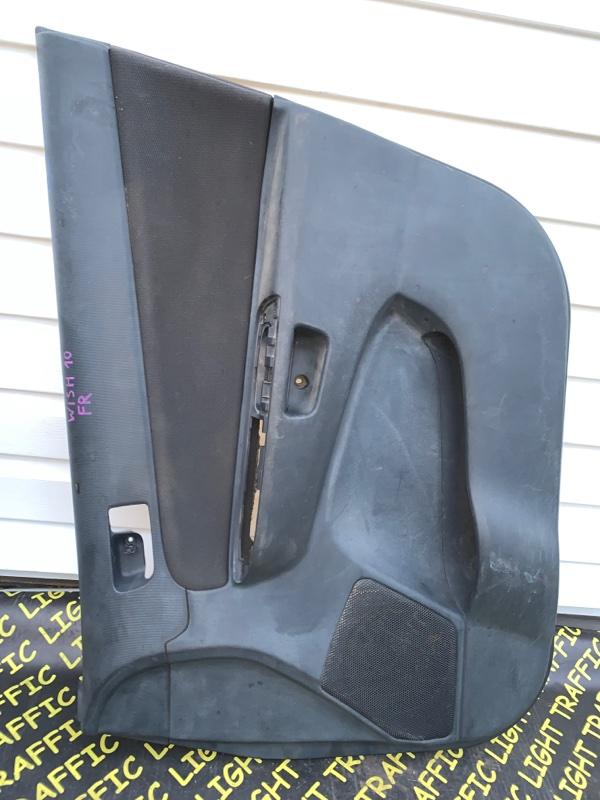 Обшивка дверей Toyota Wish ZNE10 1ZZFE передняя правая