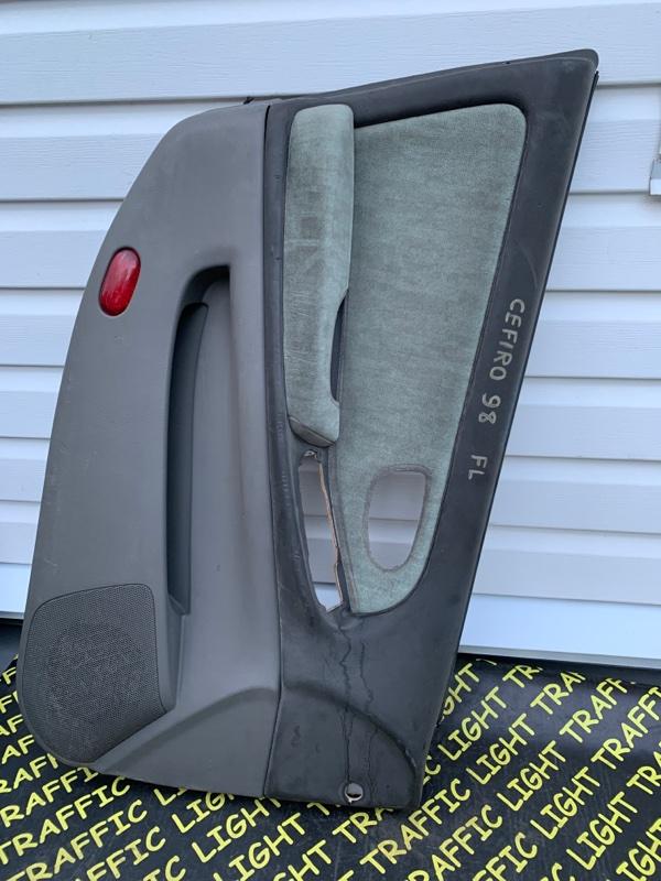 Обшивка дверей Nissan Cefiro A33 VQ25DD 1998 передняя левая