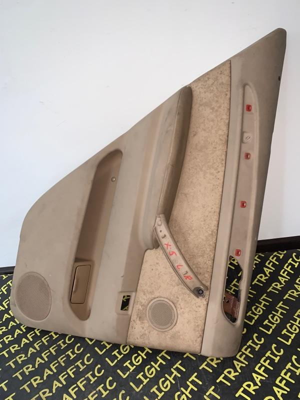 Обшивка дверей Bmw X5 E53 M54 2000 задняя левая
