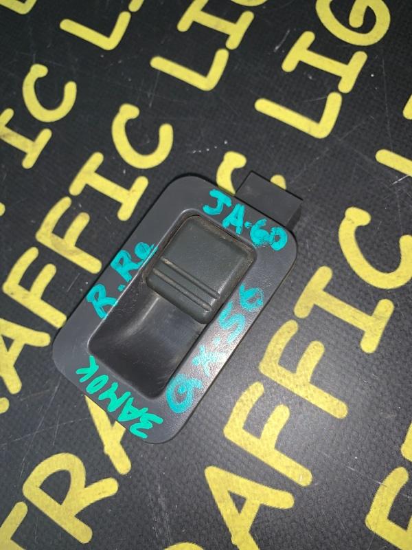 Кнопка открывания двери Nissan Qx56 JA60 задняя правая