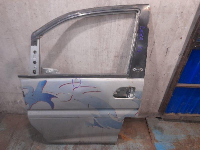 Дверь Mitsubishi Delica PD6W передняя левая