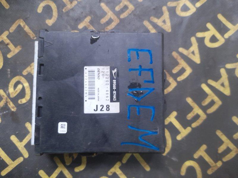 Блок управления efi Daihatsu Terios Kid J111G EFDEM
