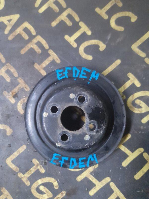 Шкив помпы Daihatsu Terios Kid J111G EFDEM