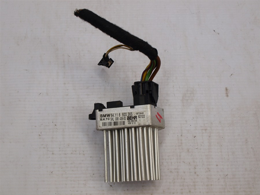Реостат печки Bmw 3-Series E46 N42B20