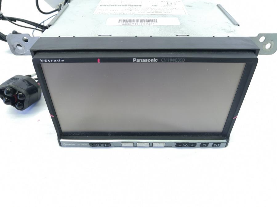 Магнитофон panasonic cn-hw880dfa