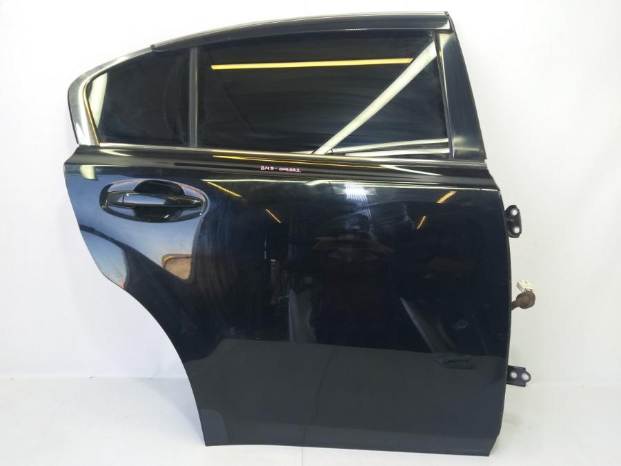 Дверь Subaru Legacy BM9 EJ253 2010 задняя правая