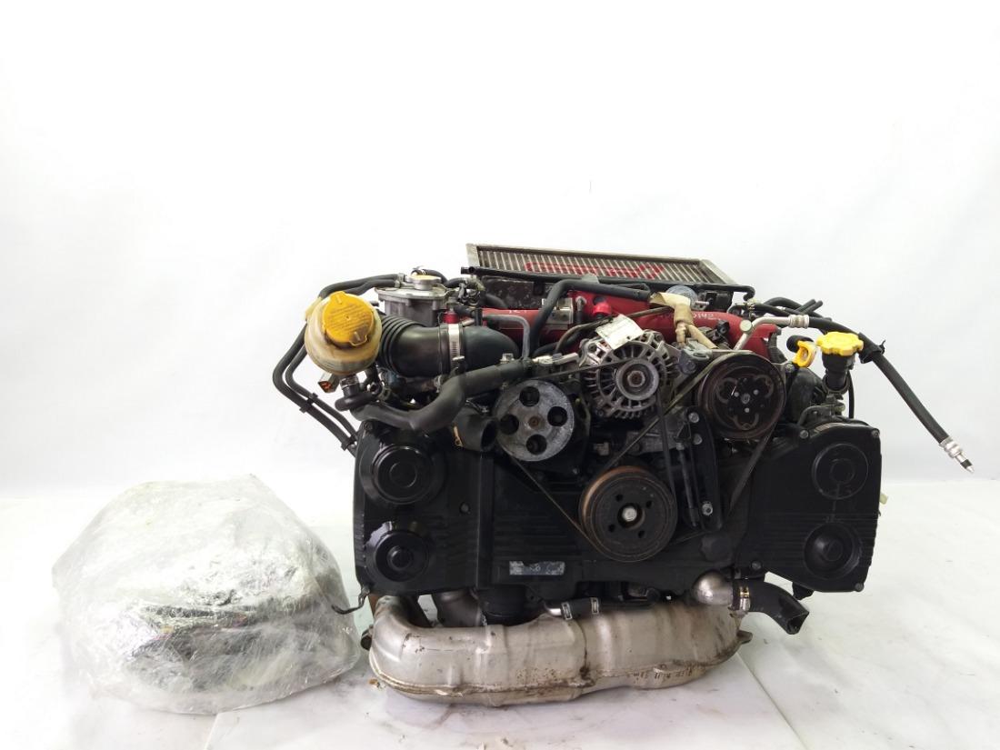 Двигатель Subaru Impreza GDB EJ207 2003