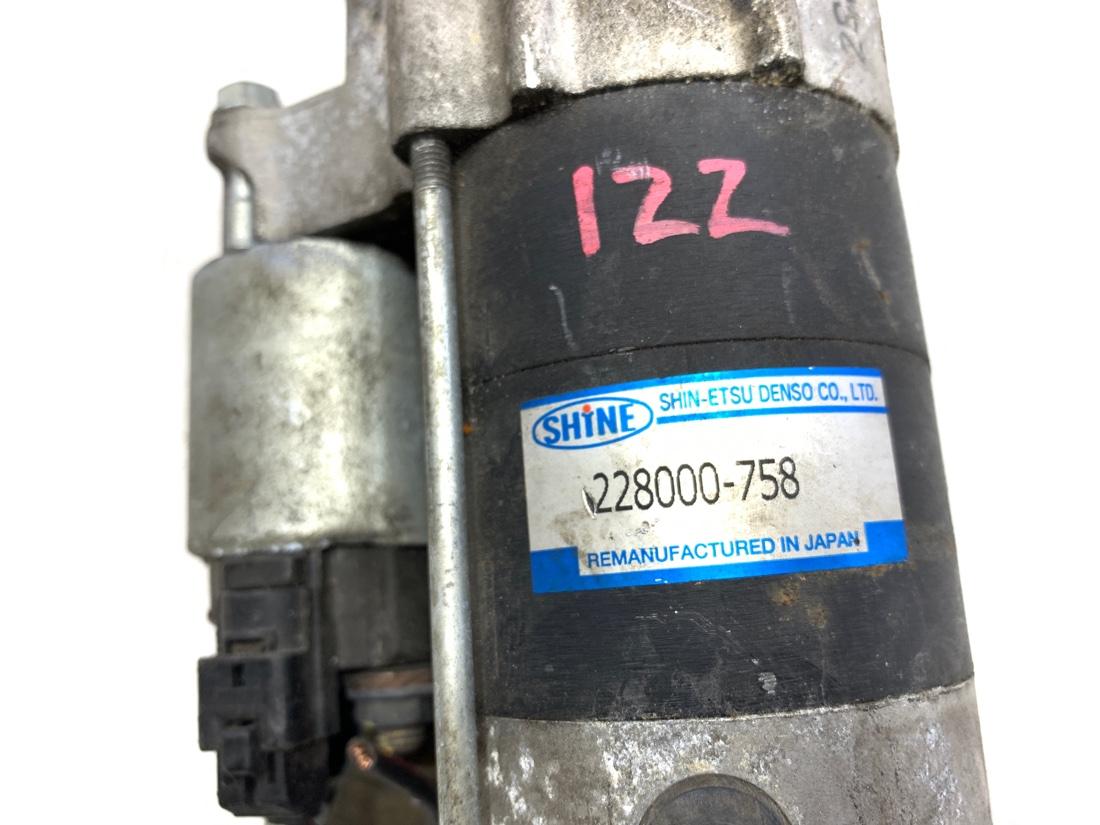 Стартер Toyota Allex ZZE122 1ZZFE