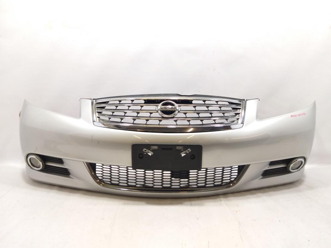 Бампер Nissan Fuga GY50 VQ35DE 2007 передний