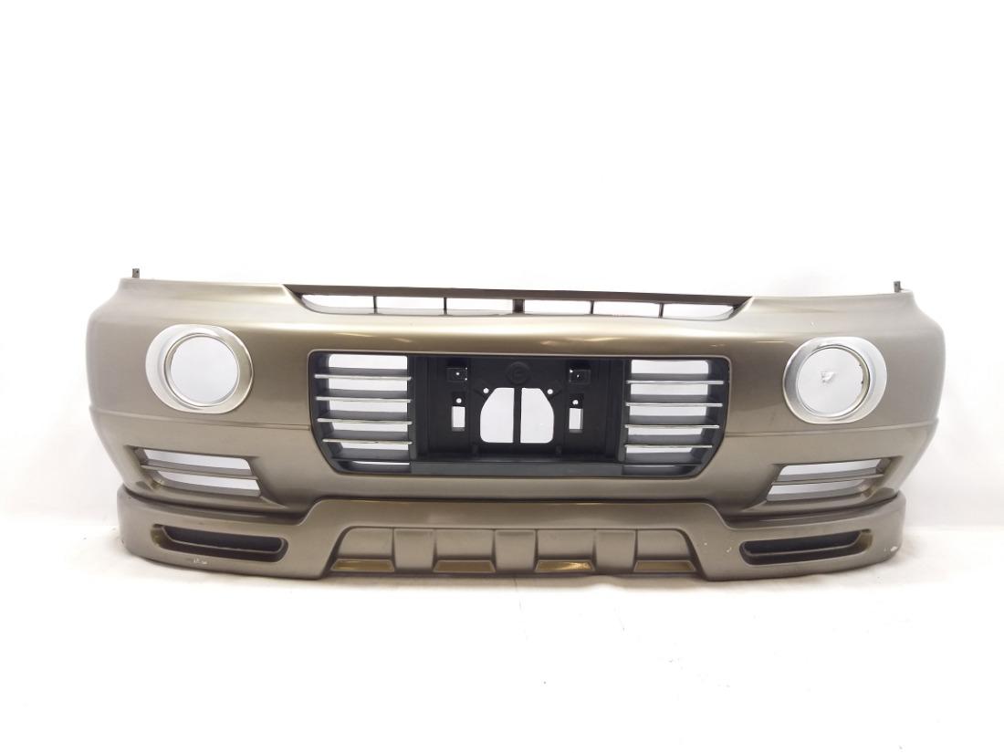 Бампер Nissan Elgrand ALE50 ZD30 передний