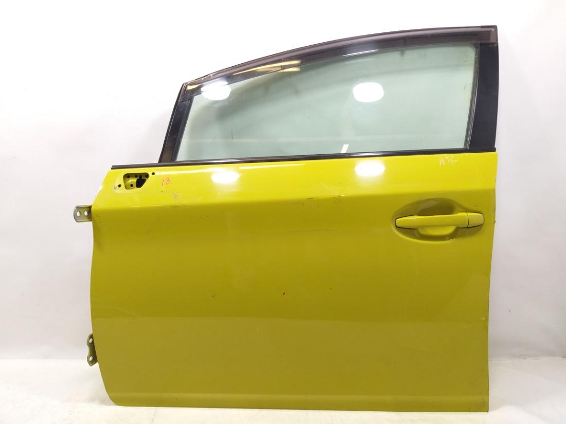 Дверь Toyota Prius ZVW30 2ZRFXE 2011 передняя левая