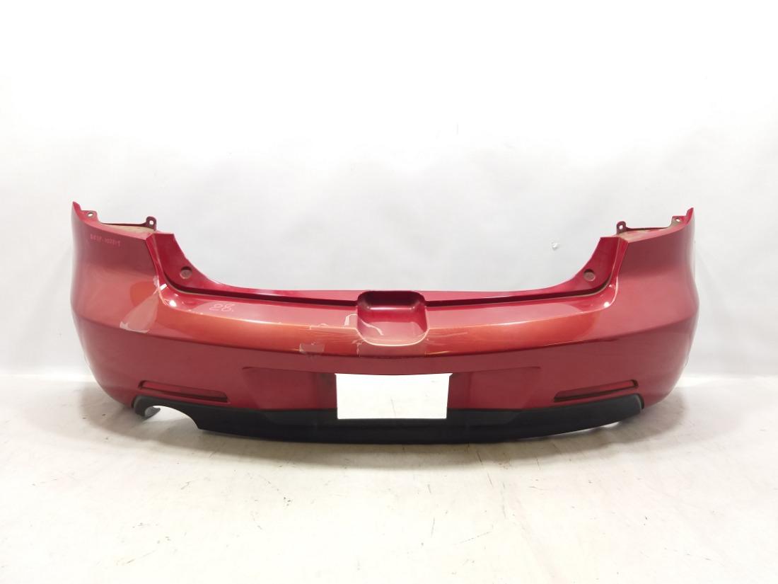 Бампер Mazda Axela BK3P L3VDT 2004 задний