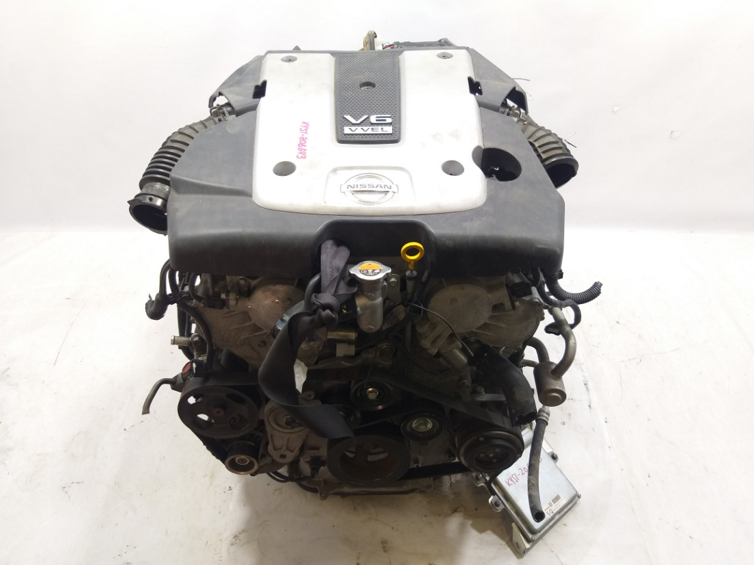Двигатель Nissan Fuga HY51 VQ37VHR 2010