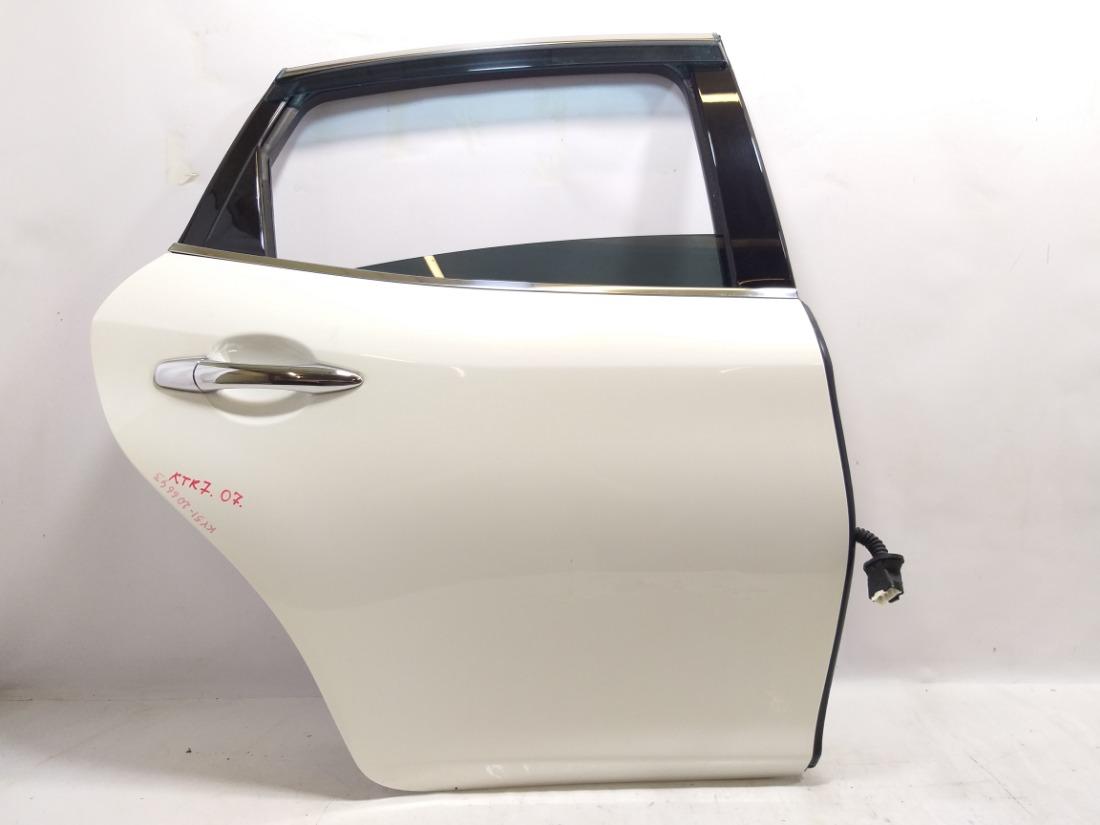 Дверь Nissan Fuga Y51 VQ37VHR 2009 задняя правая
