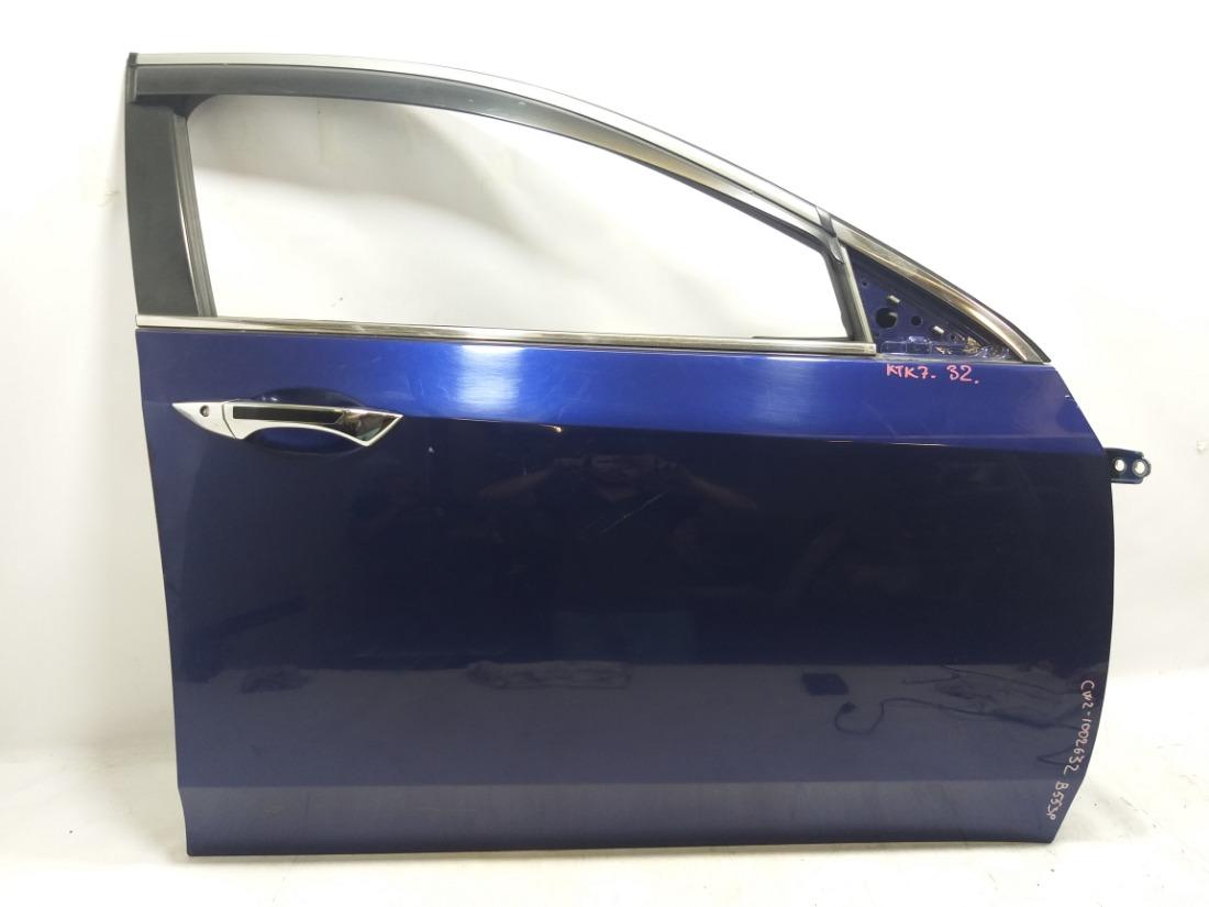 Дверь Honda Accord CW2 K24A 2009 передняя правая